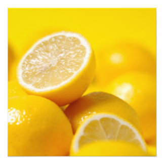 Yellow Lemons Photo Print
