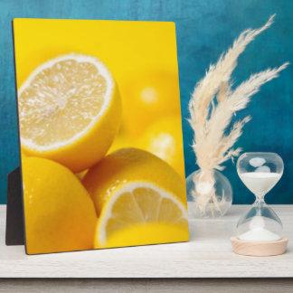 Yellow Lemons Plaque