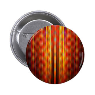 Yellow light streaks pattern 6 cm round badge