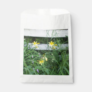Yellow Lilies  by Fence Favour Bag