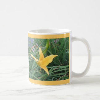 yellow lilly mug