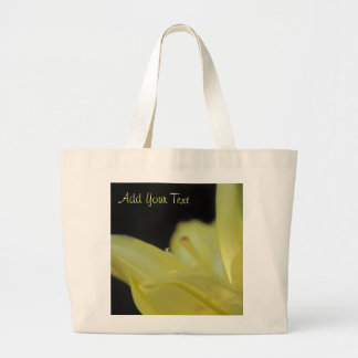Yellow Lily by Shirley Taylor Large Tote Bag