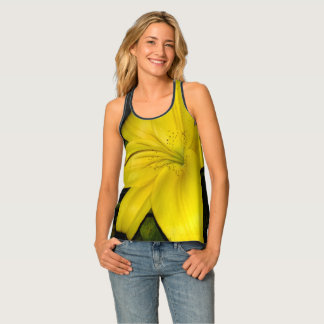 Yellow Lily Singlet