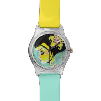 Yellow Lily Watch