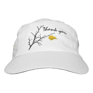 Yellow Lime Tree Leaf Hat