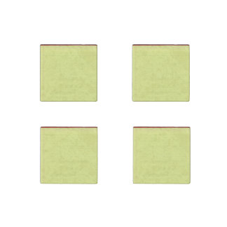 Yellow Lined School Paper Background Stone Magnet