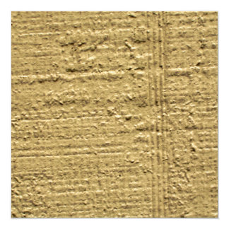 Yellow Lines 13 Cm X 13 Cm Square Invitation Card