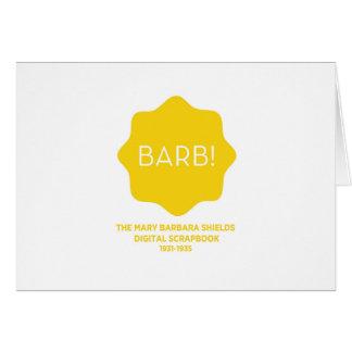 Yellow Logo Card