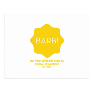 Yellow Logo Postcard