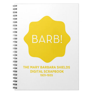 Yellow Logo Spiral Notebook