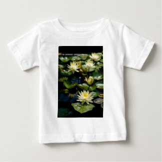Yellow Lotus Waterlilies Baby T-Shirt
