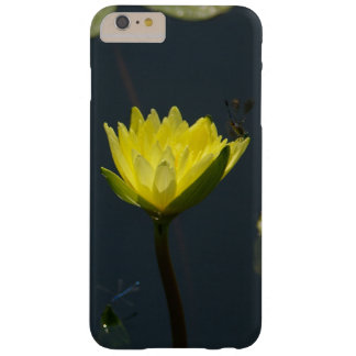 Yellow Lotus Waterlily and Damselfly Barely There iPhone 6 Plus Case