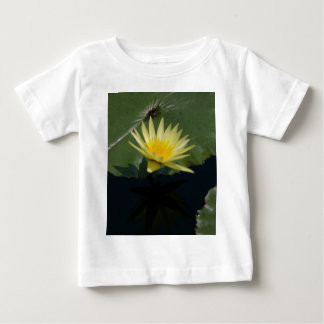 Yellow Lotus Waterlily Baby T-Shirt
