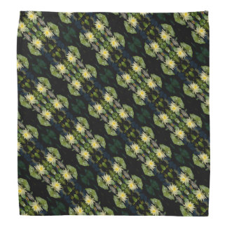 Yellow Lotus Waterlily Bandana