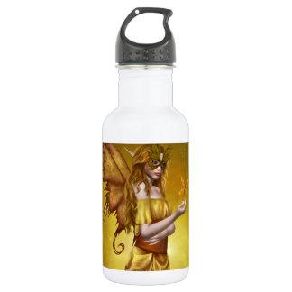 """Yellow Masquerade"" 532 Ml Water Bottle"