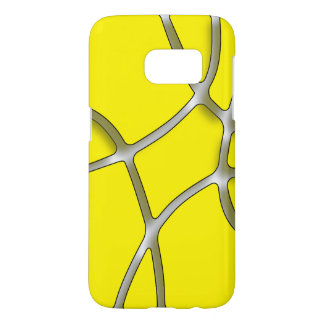 Yellow Maze Samsung Galaxy S7, Barely There