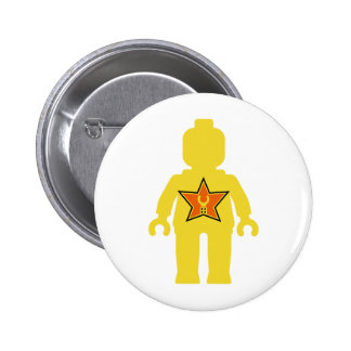 Yellow Minifig with Customize My Minifig Logo Button