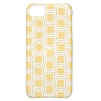 Yellow Modern Geometric Pattern iPhone iPhone 5C Case