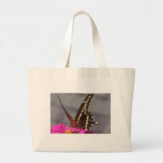 Yellow Monarch Jumbo Tote Bag