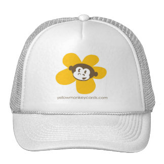 Yellow Monkey Flower Hat
