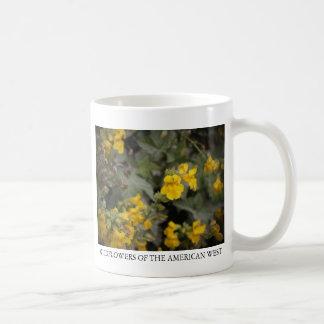 Yellow Monkeyflower Coffee Mugs