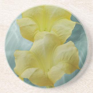 Yellow Moon flower Coaster