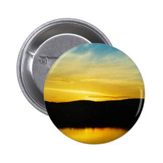 Yellow Mt Lake Sunset Button