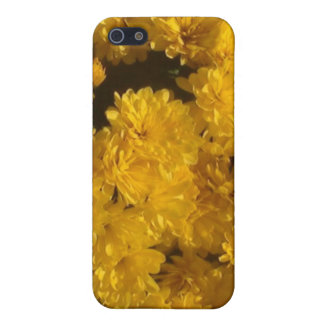 Yellow Mums of Autumn iPhone 5/5S Case