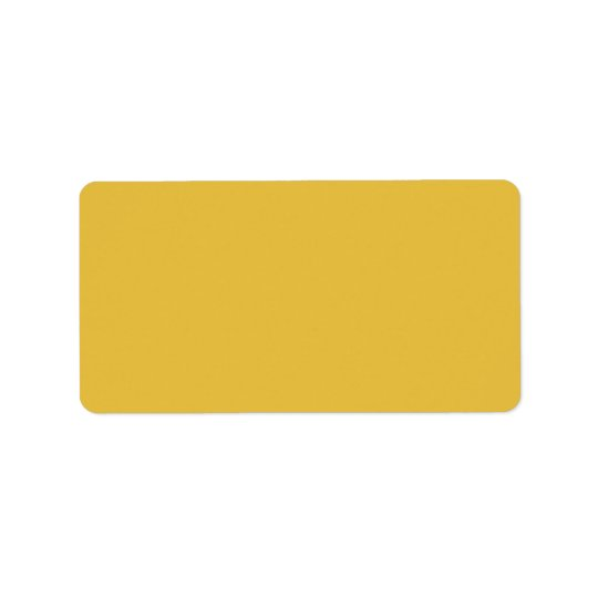 Yellow mustard label