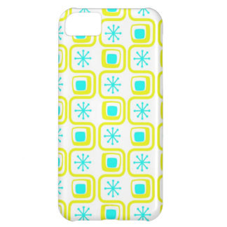 Yellow n Teal Vintage iPhone 5 Barely There Case