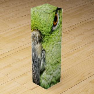 Yellow-Naped Amazon Parrot Wine Gift Box