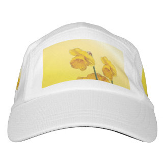 Yellow Narcissus Daffodil  Retro Vintage look Hat