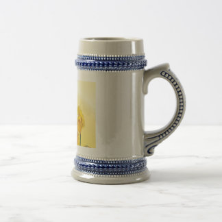 Yellow Narcissus Daffodil Retro Vintage Beer Steins