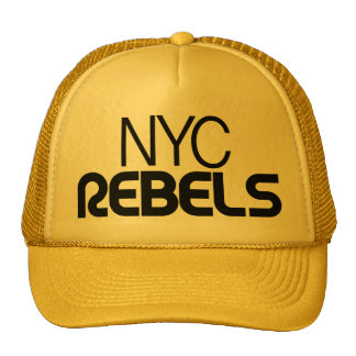 Yellow NYC Rebels Hat
