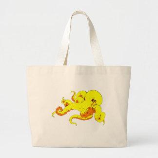 Yellow Octopus Bags