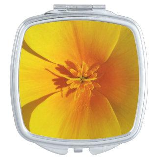 yellow of autumn makeup mirrors