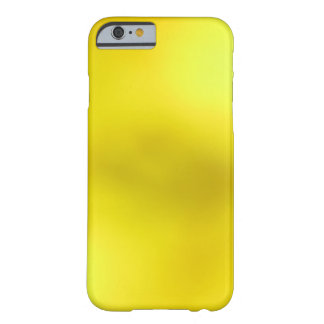Yellow on Yellow Camouflage Barely There iPhone 6 Case