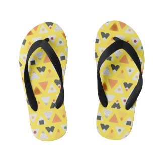 Yellow ONIGIRI Flops Kid's Thongs