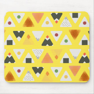 Yellow ONIGIRI Mouse Pad