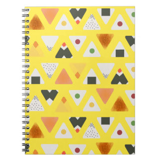 Yellow ONIGIRI Spiral Notebook