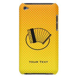 Yellow Orange Accordion Barely There iPod Covers