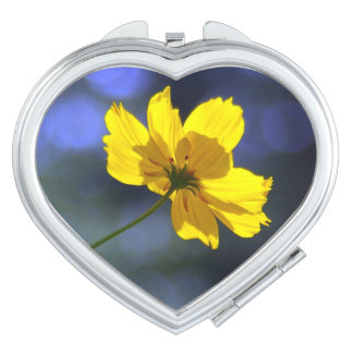 Yellow Orange Coreopsis Compact Mirror