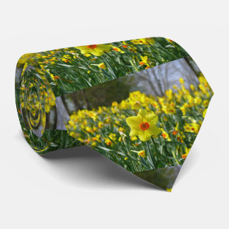 Yellow orange Daffodils 01.0.2 Tie