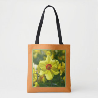 Yellow orange Daffodils 02.1.2.g Tote Bag