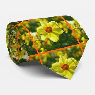 Yellow orange Daffodils 02.2o Tie