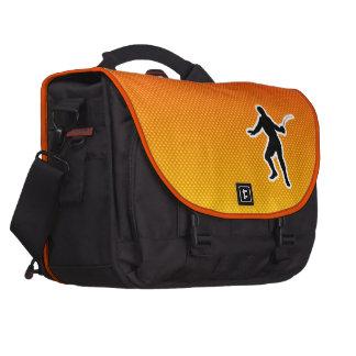 Yellow Orange Fencing Bag For Laptop