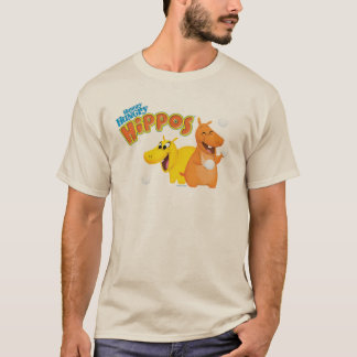 Yellow & Orange Hippo T-Shirt