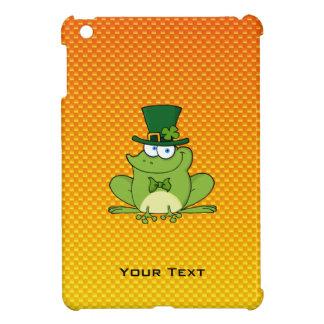 Yellow Orange Irish Frog iPad Mini Cases