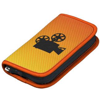Yellow Orange Movie Camera Organizer