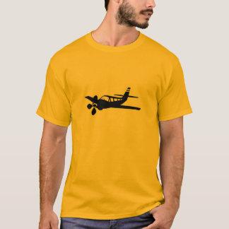 Yellow Orange Plane T-Shirt